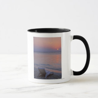 Mug Coucher du soleil et mer
