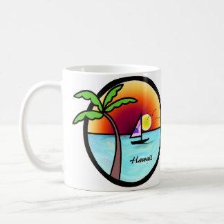 Mug Coucher du soleil hawaïen