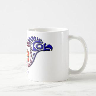 Mug Coucou terrestre antique de conception du Mexique