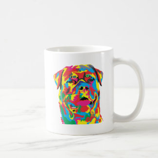 Mug couleur de rottweiler