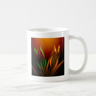 Mug Couleurs abstraites de fleur de la tulipe
