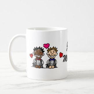 Mug Couples gais Bi-Raciaux