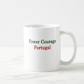 Mug Courage Portugal de puissance