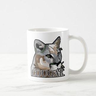 Mug Courgar, puma, puma