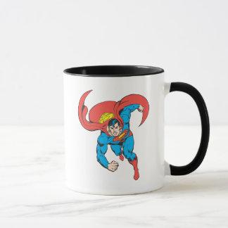 Mug Courses de Superman en avant