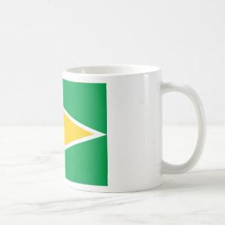 Mug Coût bas ! Drapeau de la Guyane