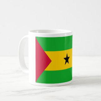 Mug Coût bas ! Drapeau de São Tomé e Príncipe