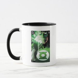 Mug Couverture haute de fin verte de lanterne
