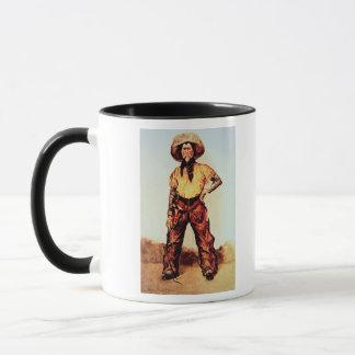 Mug Cowboy du Texas, c.1890 (huile sur la toile)