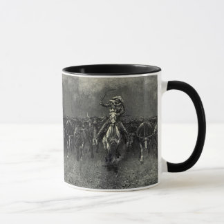 Mug Cowboys vintages, une ruée par Frederic Remington