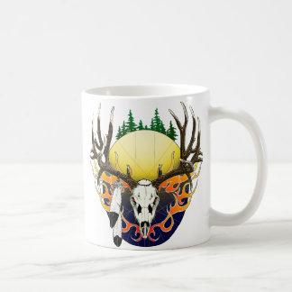 Mug Crâne de cerfs communs de mule