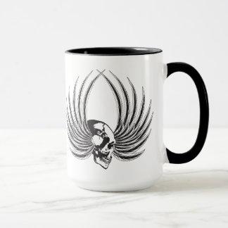 Mug Crâne de Fanged avec des ailes