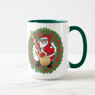Mug Crâne de Rockin Père Noël