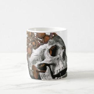 Mug Crâne gothique Steampunk d'imaginaire d'art