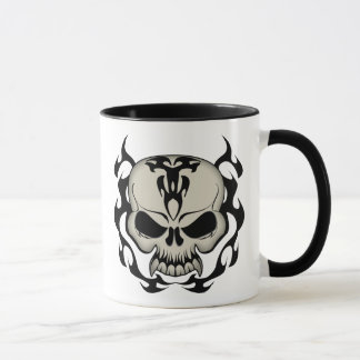 Mug Crâne tribal