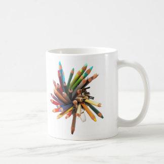 Mug Crayons d'huile colorés par artistes