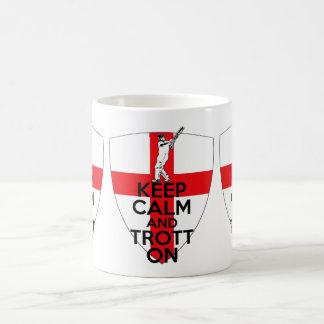 Mug Cricket anglais de drapeau