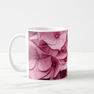 Mug Croquis rose d'hortensia
