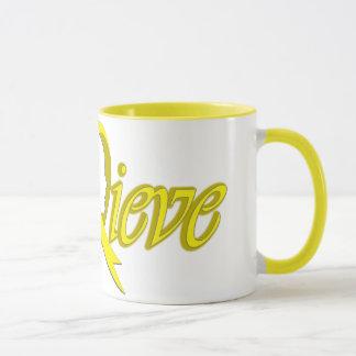 Mug Croyez (jaune - articles de cadeau)