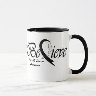"""Mug Croyez la """"Noir-Tasse """""""