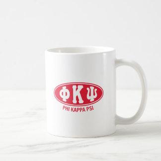 Mug Cru de livre par pouce carré | de Kappa de phi