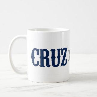 Mug Cruz pour Prez - bleu rouge - Ted Cruz pour le