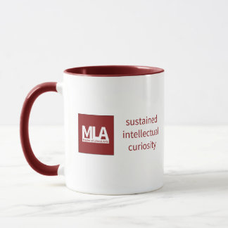 Mug Curiosité intellectuelle soutenue par rouge de