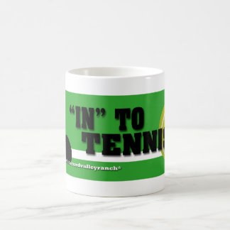 "Mug ""Dans"" au tennis"
