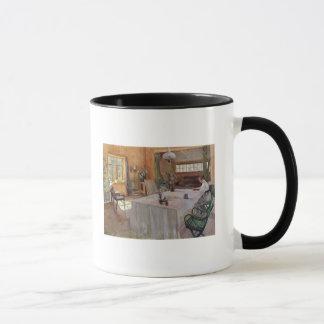 Mug Dans la Chambre de l'artiste Konstantin Korovin