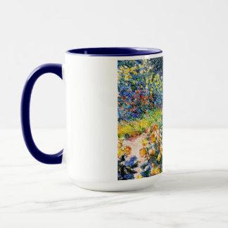 Mug Dans la peinture de femme de Claude Monet de