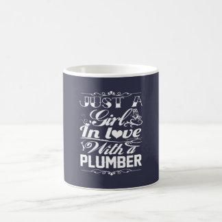 Mug Dans l'amour avec le plombier