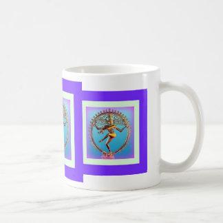 Mug Danse de Shiva dans le mysticisme violet par