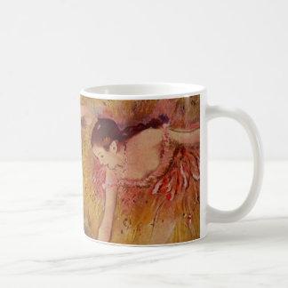 Mug Danseurs d'Edgar Degas se pliant en bas de la