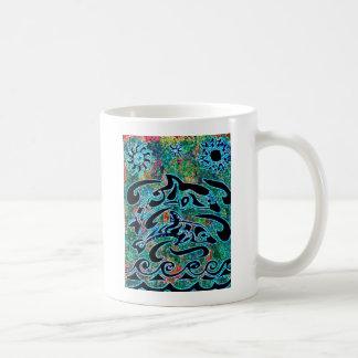 Mug Dauphins brillamment colorés