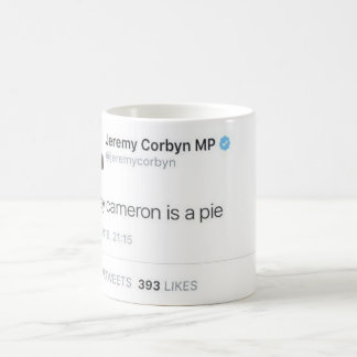 Mug Davey Cameron est un tarte