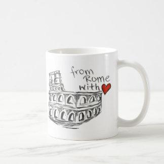 Mug De Rome avec amour
