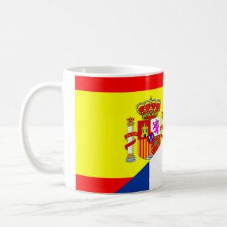 Mug de symbole s de drapeau de pays voisins de