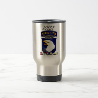 Mug De Voyage 101st Identification OEF OIF criant Eagles
