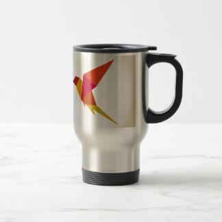 Mug De Voyage Abstraction d'oiseau