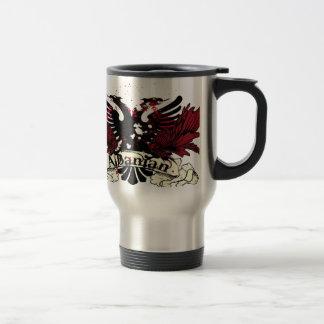 Mug De Voyage aigle albanais