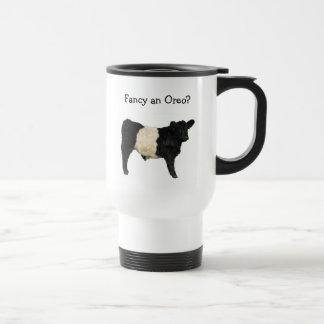 Mug De Voyage Aimez un Oreo ? Vache ceinturée à Galloway