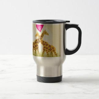 Mug De Voyage Aimez une girafe