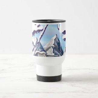 Mug De Voyage Alpes français