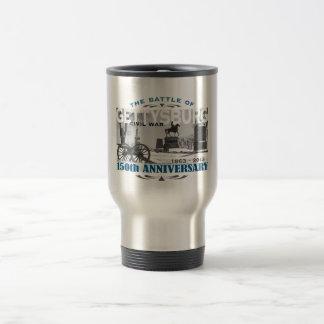 Mug De Voyage Anniversaire de la bataille 150 de Gettysburg