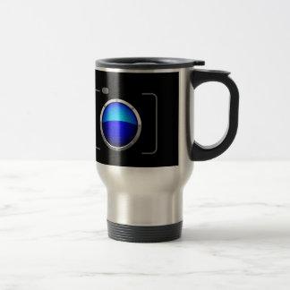 Mug De Voyage Appareil photo numérique bleu