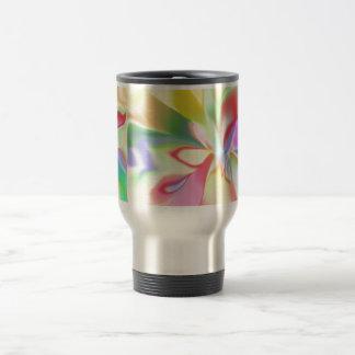 Mug De Voyage Arc-en-ciel coloré par doux