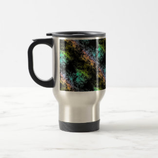 Mug De Voyage Arc-en-ciel de l'espace de galaxie de nuage sur