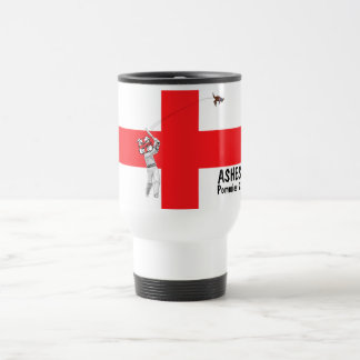 Mug De Voyage Armée tarée de cricket drapeau-Anglais anglais