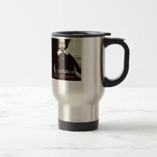 Mug De Voyage Arpenteur de Samuel de Champlain Land
