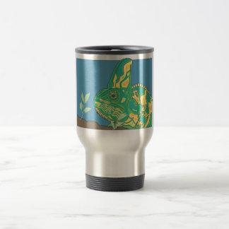 Mug De Voyage Articles voilés de boissons de caméléon